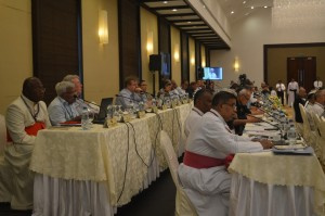 Plenary Assembly of the Federation of Asian Bishops' Conferences (FABC) November 28-December 4 at Negombo, a coastal city of Catholic stronghold, near Colombo